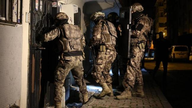 Osmaniye'de terör örgütü PKK/KCK'ya operasyon: 4 şüpheli gözaltına alındı