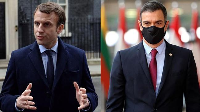 İspanya Başbakanı Sanchez karantinada: Koronavirüs testi pozitif çıkan Macron ile görüşmüştü...