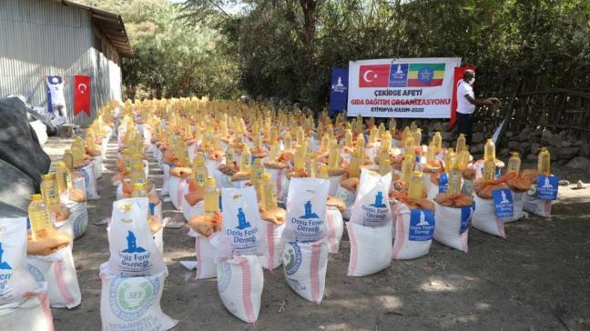 Türkiye iyilikte de dünyanın dört bir yanında savaşıyor... Etiyopya'da gözler ışığa, yetimler eğitime kavuşuyor