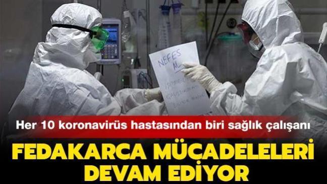Koronavirüsten yaşamını yitiren sağlık çalışanı sayısı 216'ya yükseldi: Her 10 koronavirüs hastasından biri sağlık çalışanı