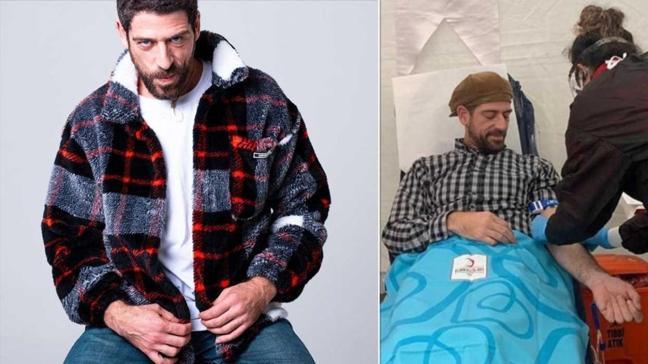 Survivor 2021 yarışmacısı Cemal Hünal'dan Türk Kızılay'a kan bağışı