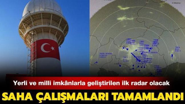 Milli Gözetim Radarı'nın saha çalışmaları tamamlandı
