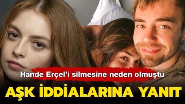 Murat Dalkılıç'ın Sadakatsiz'in Derin'i Melis Sezen'le aşk yaşadığı iddialarına yalanlama