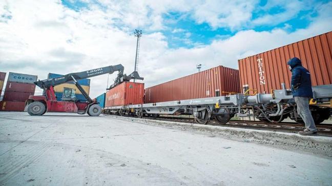 Çin'e ikinci ihracat treni de yollarda