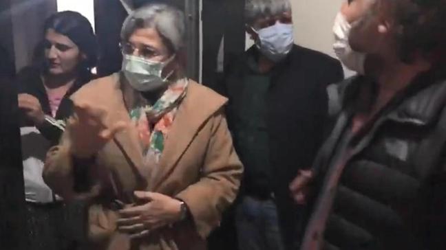 Son dakika haberleri... HDP'li Leyla Güven gözaltına alındı