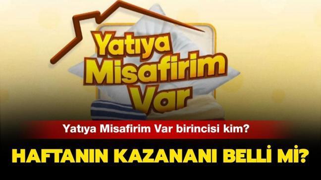 """Yatıya Misafirim Var haftanın birincisi kim oldu"""" Yatıya Misafirim Var 1 Ocak kazananı açıklandı!"""