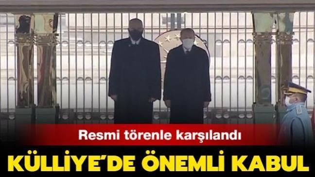 Başkan Erdoğan, Arnavutluk Başbakanı Edi Rama'yı resmi törenle karşıladı