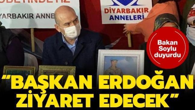 Bakan Soylu Diyarbakır'da duyurdu: Başkan Erdoğan yakın zamanda gelecek