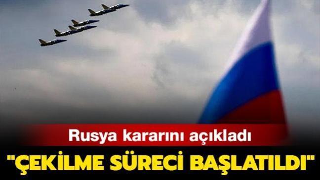 """Rusya'dan 'Açık Semalar Anlaşması' açıklaması: """"Çekilme süreci başlatıldı"""""""
