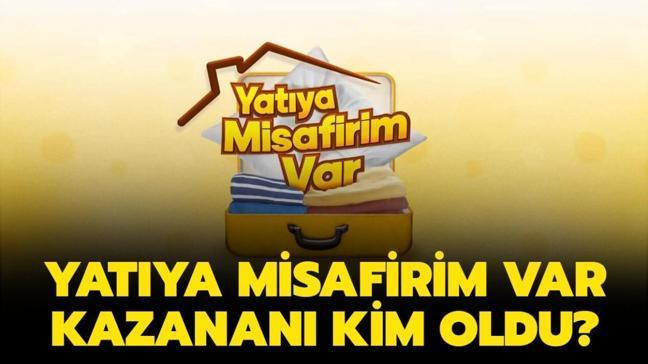 """Yatıya Misafirim Var kazananı kim oldu"""" Yatıya Misafirim Var 15 Ocak 2021 birincisi belli oldu!"""
