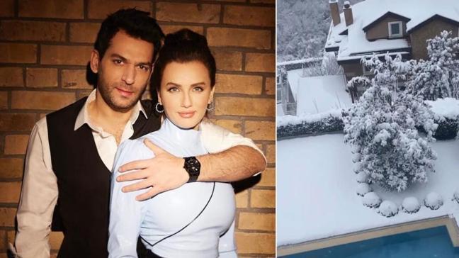 Iman Elbani'nin paylaşımında dikkat çeken detay! Ramo'nun oyuncusu Murat Yıldırım eşinin adını bakın nereye yazdırdı