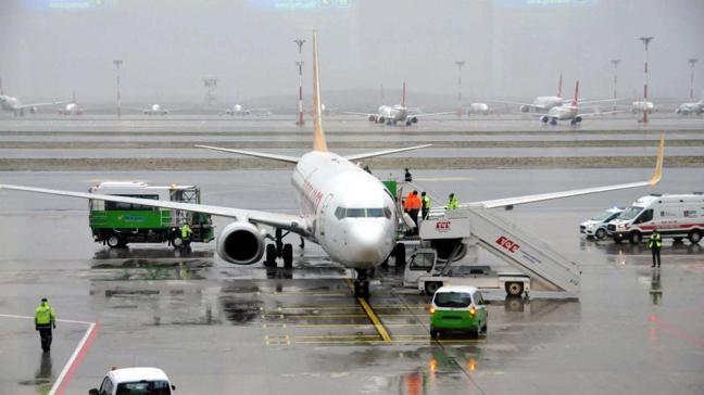 Samsun-İstanbul yolcu uçağında panik! Acil iniş yaptı