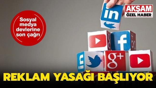 Temsilci atamayan sosyal medya devlerine son çağrı: Reklam yasağı başlıyor