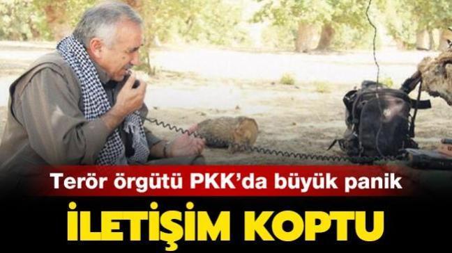 Terör örgütü PKK içinde haberleşme yüzde 80 azaldı
