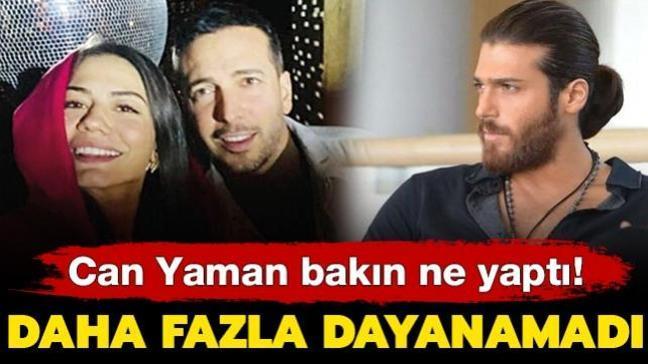 Demet Özdemir ile Oğuzhan Koç'un aşkına dayanamayan Can Yaman bakın ne yaptı!