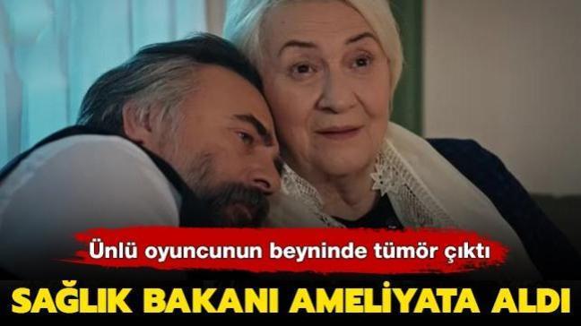 Eşkıya Dünyaya Hükümdar Olmaz'ın başrol oyuncusu hastaneye kaldırıldı! Beyninde tümör çıkan oyuncuyu sağlık bakanı ameliyat etti
