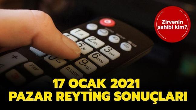 """17 Ocak 2021 reyting sonuçları açıklandı! Dünün reyting birincisi kim"""" İşte zirvenin sahibi..."""