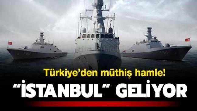 İlk Türk fırkateyni 23 Ocak'ta denizlerde...