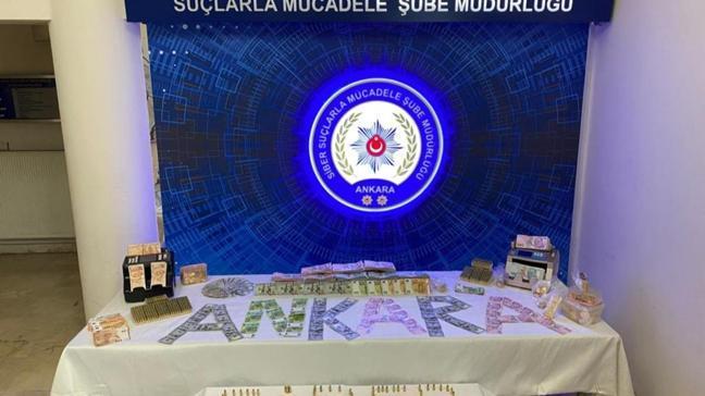 Ankara merkezli 4 ilde bahis operasyonu: 12 gözaltı
