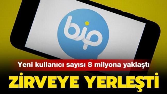 BiP Google Play Store'da zirveye yerleşti: Türkiye dışındaki yeni kullanıcı sayısı 8 milyona yaklaştı