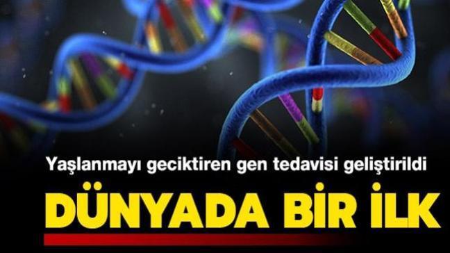Dünyada bir ilk: Yaşlanmayı geciktiren gen tedavisi geliştirildi