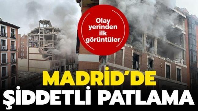 Son dakika haberi: Madrid'de şiddetli patlama