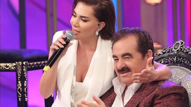 İbrahim Tatlıses ve Ebru Yaşar'ın 15 yıllık küslüğü İbo Show'da bitti!