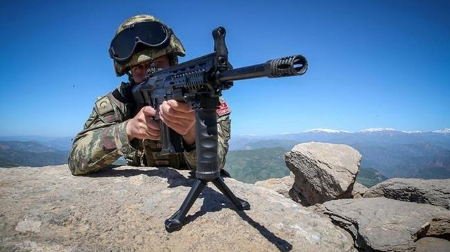Saldırı girişiminde bulunan 3 PKK/YPG'li terörist etkisiz hâle getirildi