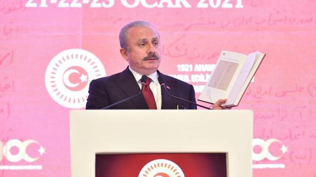 TBMM Başkanı Şentop: TBMM anayasal düzenlemeler itibarıyla güçlendirildi