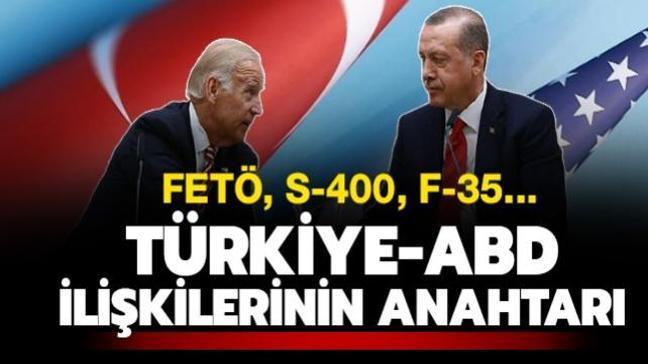 Biden döneminde Türkiye-ABD ilişkilerine ivme kazandıracak anahtar: FETÖ, S-400, F-35...