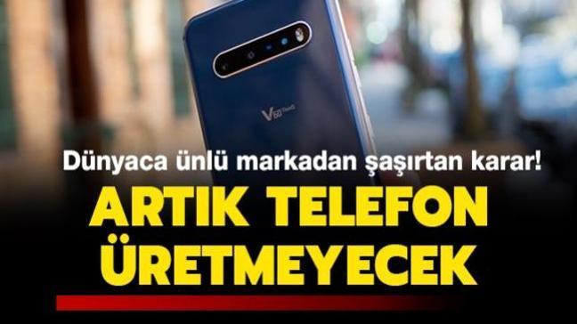 Dünyaca ünlü markadan şoke eden karar! Artık telefon üretmeyecek...