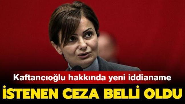 Son dakika haberi: CHP'li Kaftancıoğlu hakkında yeni iddianame! 6 yıla kadar hapis istemi