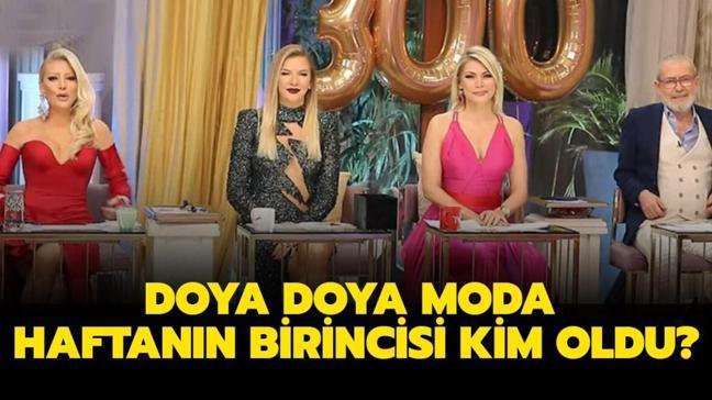 "Doya Doya Moda bu hafta elenen isim belli oldu! 22 Ocak Cuma Doya Doya Moda birincisi kim oldu"""