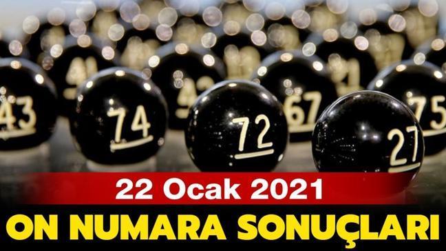 MPİ On Numara çekiliş sonuçları 22 Ocak 2021