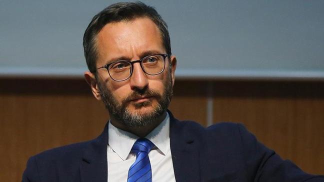 """İletişim Başkanı Fahrettin Altun'dan """"militan"""" tepkisi"""