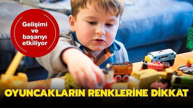 Çocuklara oyuncak seçerken renklere dikkat! İşte oyuncak seçiminin püf noktaları
