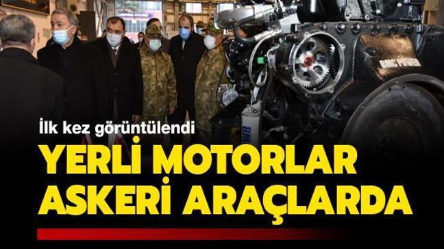 """İlk kez görüntülendi! BMC'nin """"yerli motorları"""" askeri araçlarda"""