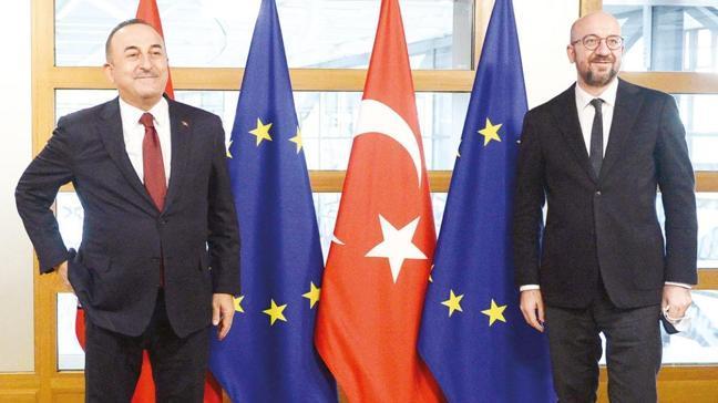 Dışişleri Bakanı Çavuşoğlu: AB'den bize uzatılan bir el olduğunu gördük
