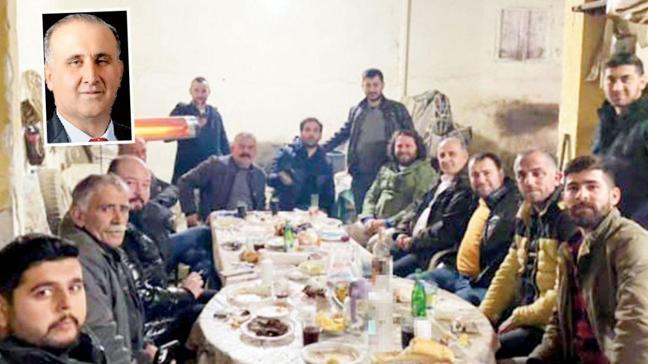 İP'li Aytekin Kaya'dan korona partisi