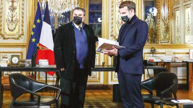 Macron'un yüzüne nükleer gerçeği