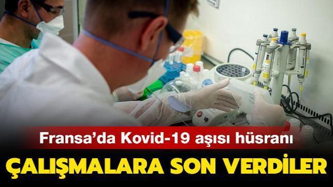 Fransa'da Kovid-19 aşısı hüsranı: Çalışmalara son verdiler