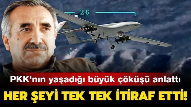PKK'nın yaşadığı büyük çöküşü anlattı... Her şeyi tek tek itiraf etti!