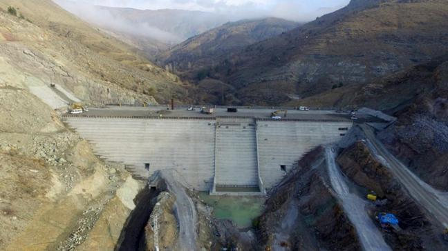 Yüzde 60'ı tamamlandı: Bahçecik Barajı 2021'de su tutacak
