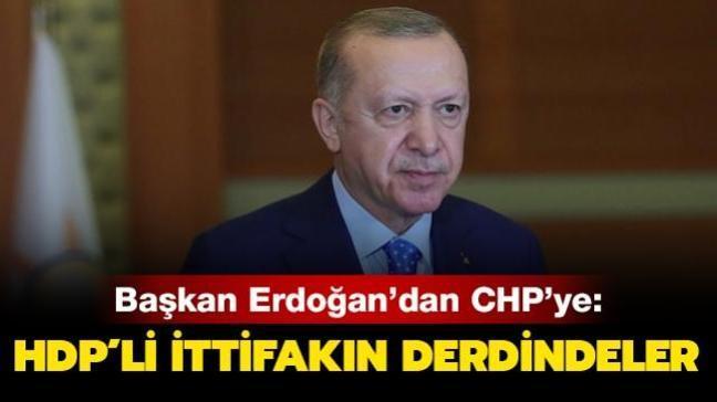 'CHP, HDP'li ittifakın derdinde'