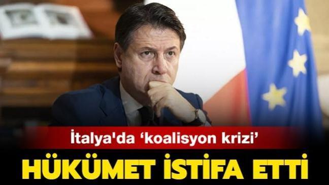 Son dakika haberleri... İtalya'da koalisyon krizi: Hükümet istifa etti