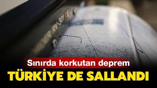 Son Dakika: Diyarbakır, Mardin ve Batman'da hissedilen deprem