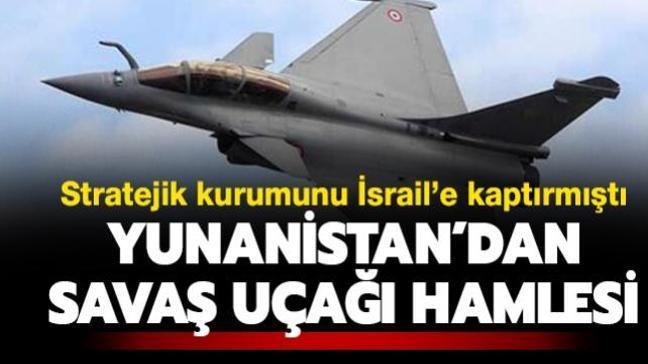 Stratejik kurumunu İsrail'e kaptırmıştı: Türkiye karşısında eli zayıf kalan Yunanistan Fransa ile imzaları attı