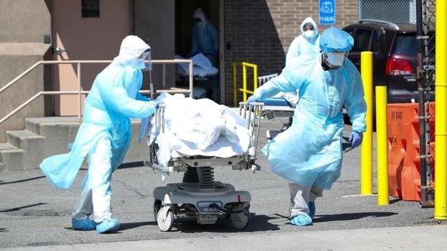 ABD'de koronavirüsten son 24 saatte bin 897 kişi hayatını kaybetti