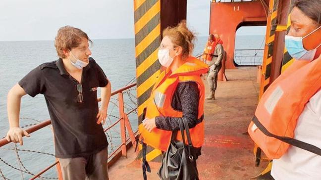 Gemide inceleme yapıldı... Korsanlarla temas yok