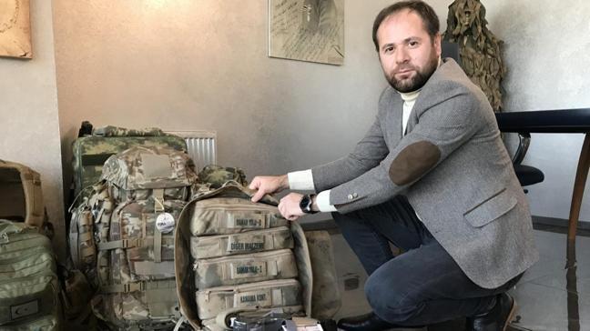 """Askerin hayatını kurtardı, ihracata başladı: """"Türkiye'de üretmek için düğmeye bastılar"""""""